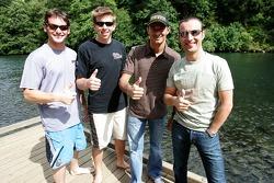 Rafting avec des pilotes ALMS