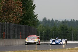 #44 Flying Lizard Motorsports Porsche 911 GT3 RSR: Seth Neiman, Darren Law, #12 Autocon Motorsports Lola EX257 AER: Bryan Willman, Chris McMurry