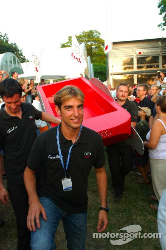 Présentation des bateaux pour la course à Zandvoort: bateau de Jeroen Bleekemolen