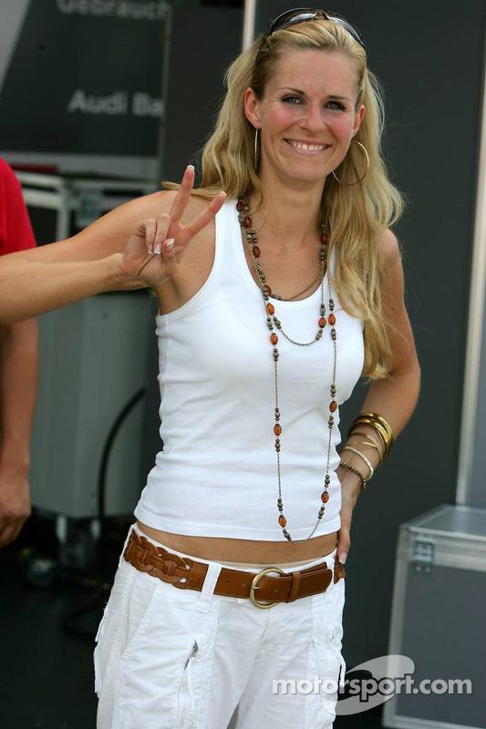 Eve Scheer, petite amie de Frank Stippler