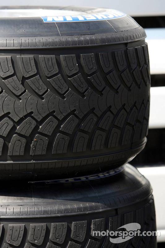 Pneus Michelin avec un nouveau design