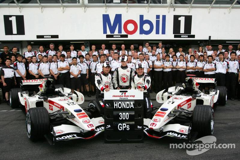 Photo de l'équipe Honda Racing: Honda fête son 300e Grand Prix
