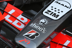 Midland MF1 Racing front wing