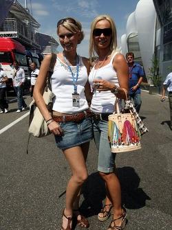 Sine Beckmann et Cora Schumacher