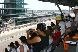Fans watch happy hour action