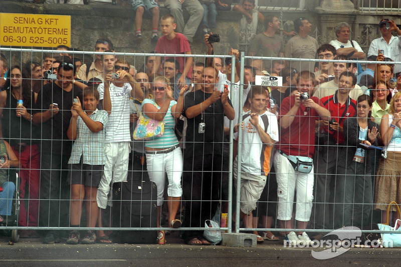 Red Bull Show Run Budapest: fans