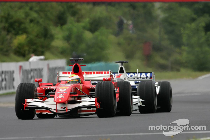 Felipe Massa y Robert Kubica