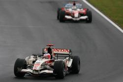 Rubens Barrichello and Jarno Trulli
