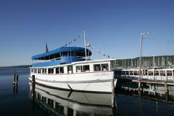 Beautiful Watkins Glen marina on Seneca Lake