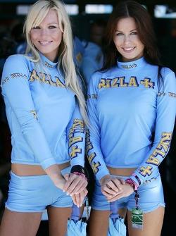 Charming Rizla Suzuki girls
