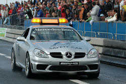 The official F1 safety car leaded the way at Bavaria City Racing