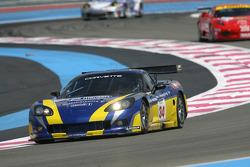#34 PSI Experience Corvette C6R: Jos Menten, Jean-Philippe Belloc
