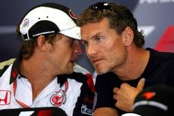 FIA press conference: David Coulthard and Jenson Button