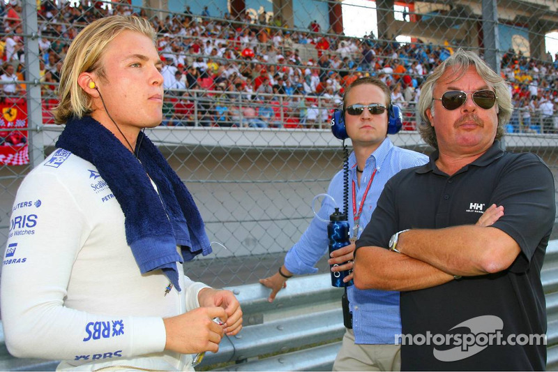 Nico Rosberg e Keke Rosberg em 2006