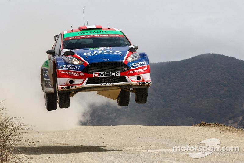 Nicolas Fuchs und Fernando Mussano, Ford Fiesta R5