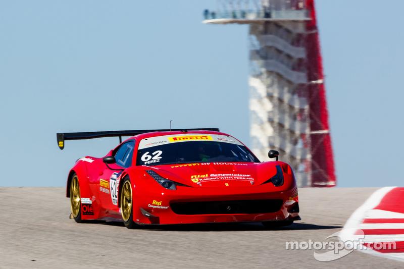 #62 Risi Competizione 法拉利458 GT3 Italia: Ricardo Perez