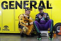 Matt Kenseth, Joe Gibbs Corsa Toyota e Denny Hamlin, Joe Gibbs Corsa Toyota