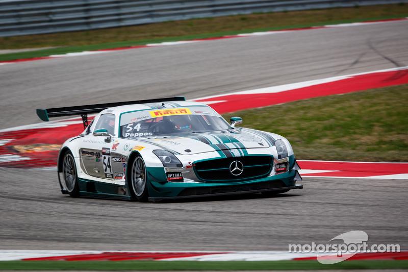 #54 Black Swan Racing Mercedes-Benz AMG SLS GT3: Tim Pappas