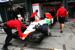 Manor Marussia F1 Team dans les stands