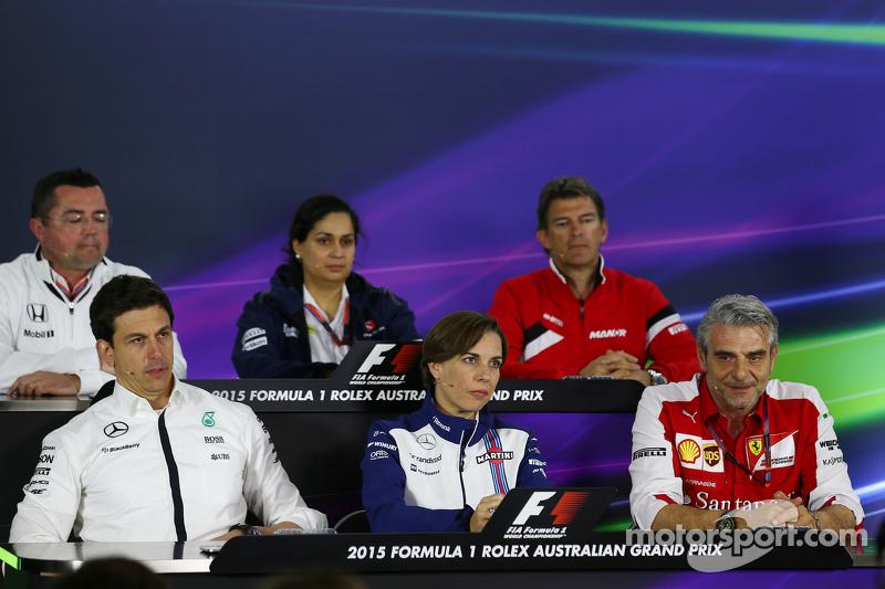 Die FIA-Pressekonferenz: Eric Boullier, McLaren-Renndirektor