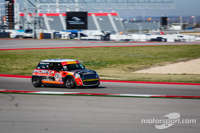 #59 Racing.ca MINI Cooper: Wei Lu