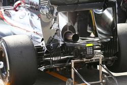 McLaren MP4-30, difusor trasero