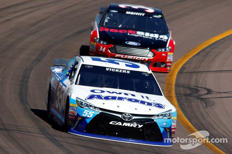 Brian Vickers, Michael Waltrip Racing, Toyota