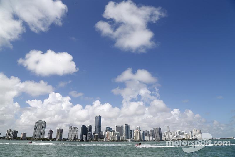 Pemandangan kota Miami