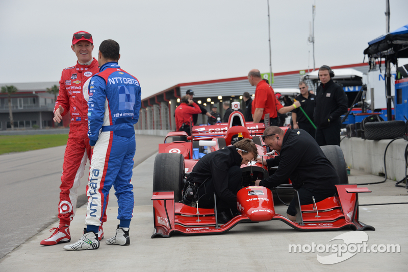 Scott Dixon und Tony Kanaan, Ganassi Racing