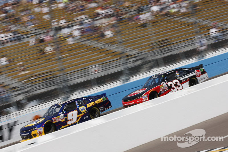Chase Elliott, JR Motorsports, Chevrolet, Ty Dillon, Richard Childress Racing, Chevrolet
