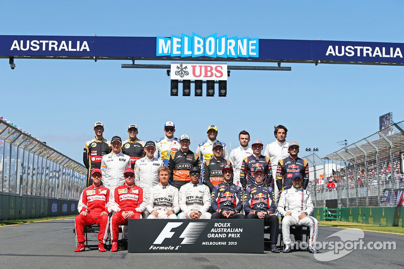 drivers start of season photograph