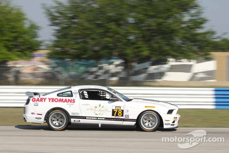 #78 Racers Edge Motorsports,野马Boss 302 R: Chris Beaufait, Bob Michaelian
