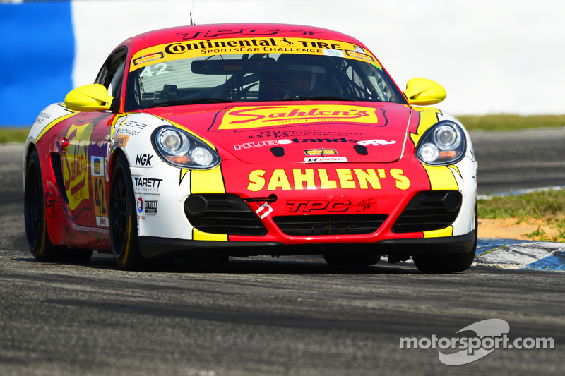 #42 Team Sahlen Porsche Cayman: Will Nonnamaker, Jeff Segal