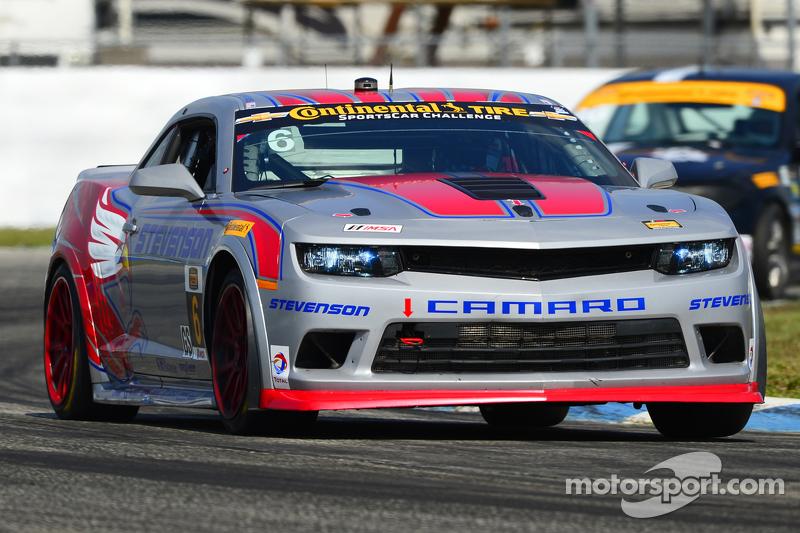#6 Stevenson Motorsports,科迈罗 Z/28.R: Robin Liddell, Andrew Davis