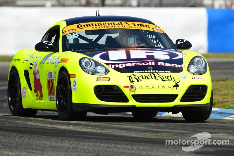 #88 Rebel Rock Racing Porsche Cayman: Jim Jonsin, Nate Norenberg