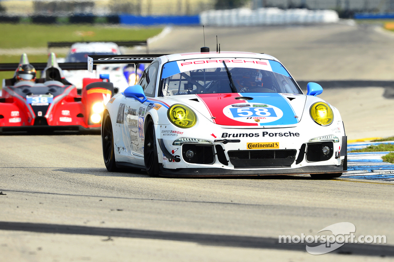 #58 Wright Motorsports Porsche 911 GT America: Madiсин Snow, Jan Heylen, Emilio Valverde