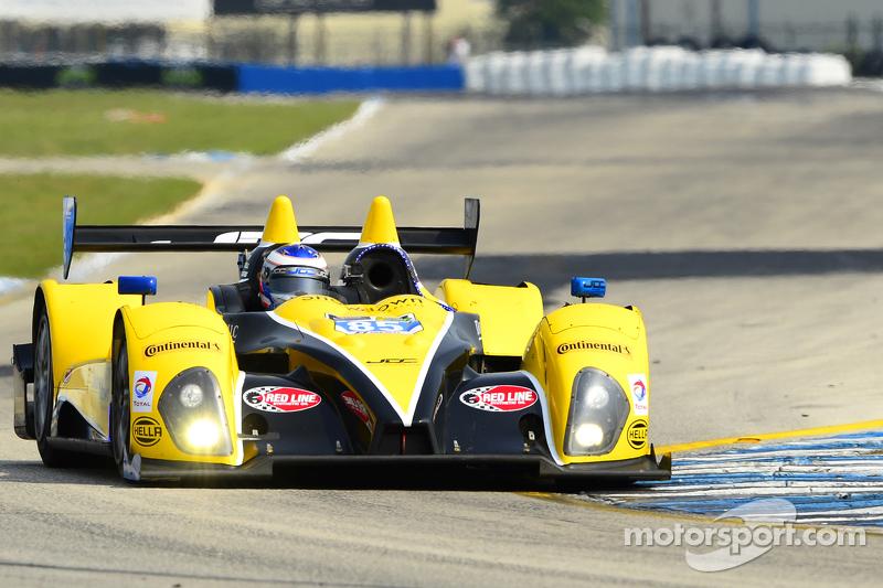 #85 JDC/Miller Motorsports, ORECA FLM09: Rusty Mitchell, Mikhail Goikhberg, Chris Miller, Gerry Kraut