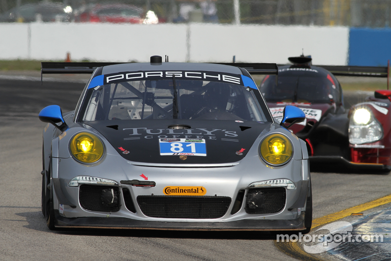 #81 GB Autosport,保时捷911,美洲GT: Damien Faulkner, Mike Skeen, Michael Avenatti