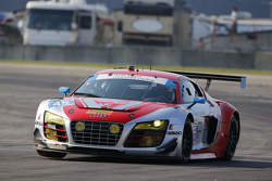 #45 Flying Lizard Motorsports,奥迪R8 LMS: Marco Holzer, Robert Thorne, Colin Thompson