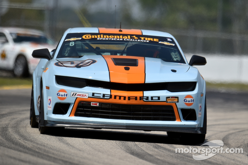 #8 Mantella Autosport Camaro Z/28.R: Anthony Mantella, Mark Wilkins