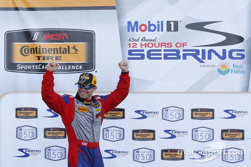1. Andrew Davis, Stevenson Motorsports