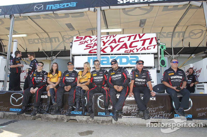 Speedsource Mazda team