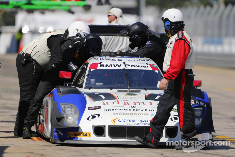 #50 Fifty Plus Racing Endures for a Cure/Highway to Help Race Team Riley BMW: Jim Pace, Byron DeFoor