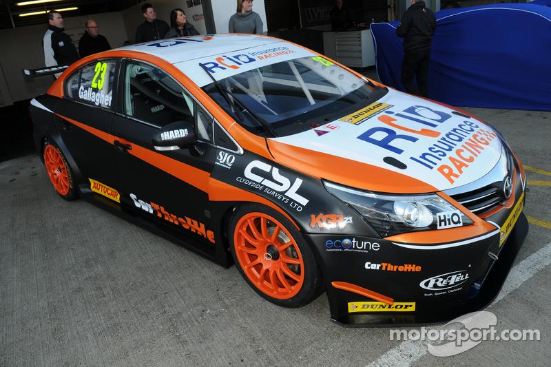 Kieran Gallagher, RCIB Insurance Racing