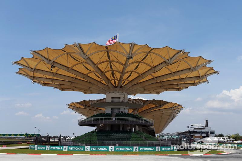 Sepang circuit grandstand