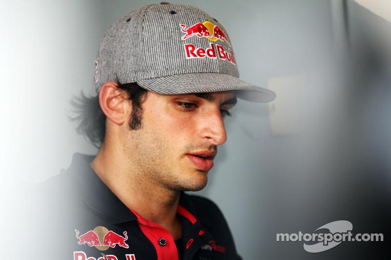 Carlos Sainz Jr. Scuderia Toro Rosso