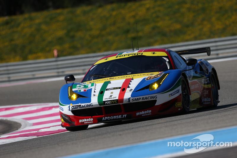 #51 AF Corse Ferrari F458 Italia: Gianmaria Bruni, Toni Vilander