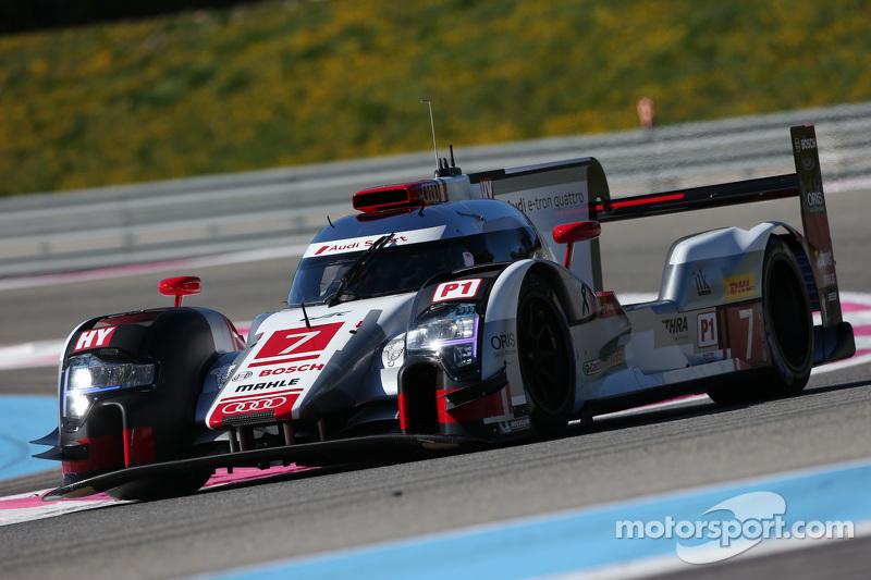 #7 奥迪运动车队,奥迪R18 e-tron quattro: Marcel Fässler, Andre Lotterer, Benoit Tréluyer