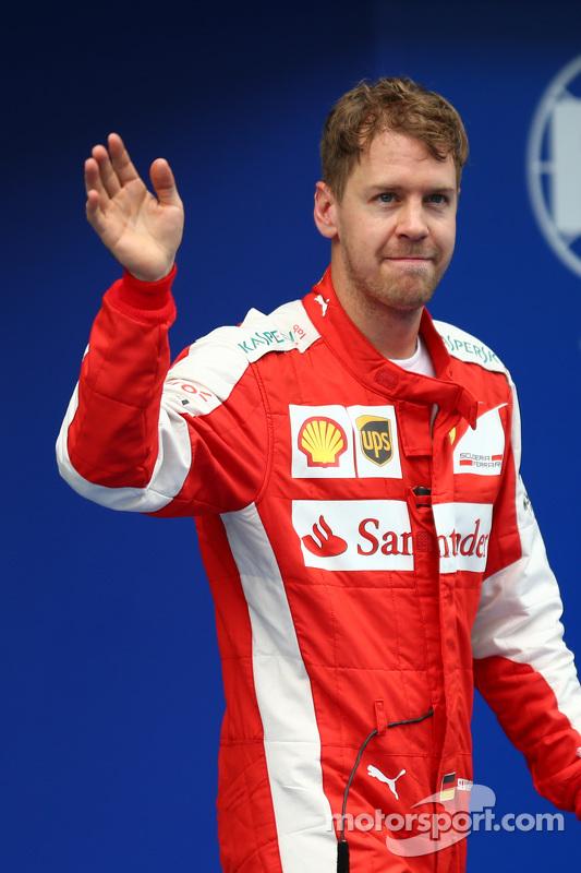 Sebastian Vettel, Ferrari rebut posisi ke-3 place di sesi kualifikasi