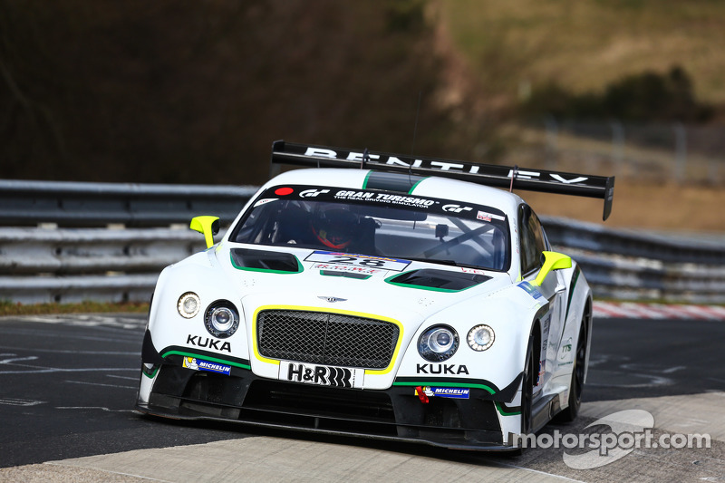 #28 Bentley Team, Bentley Continental GT3: Harold Primat, Christopher Brück
